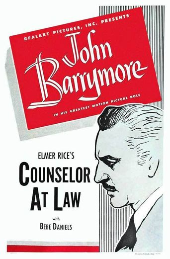 Counsellor at Law Poster