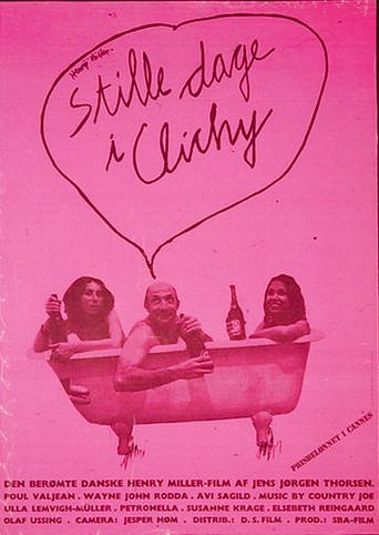 Quiet Days in Clichy Poster