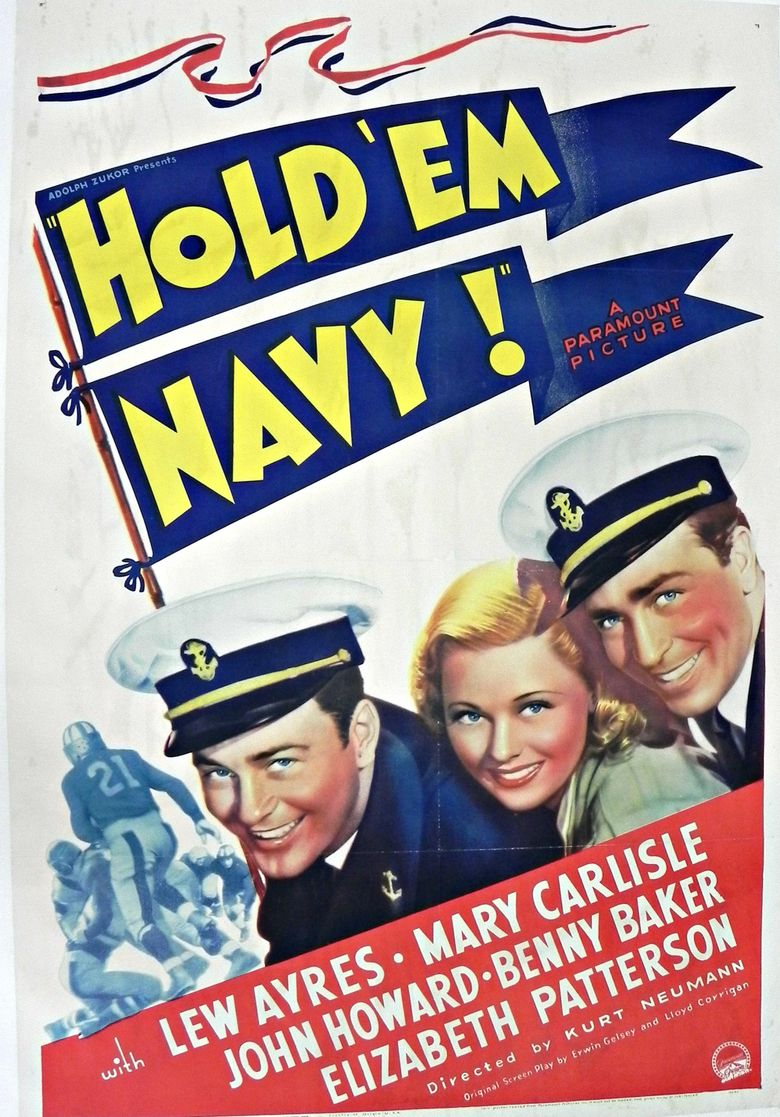 Hold 'Em Navy Poster