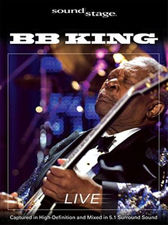 B.B. King: Live at the Woodlands Poster