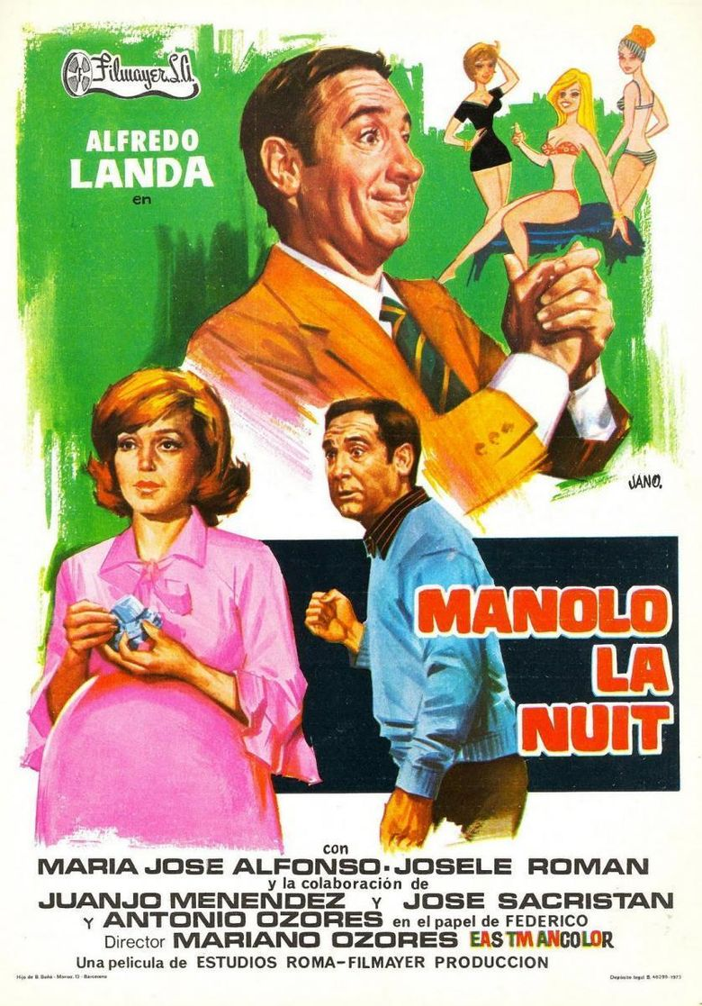 Manolo by Night Poster