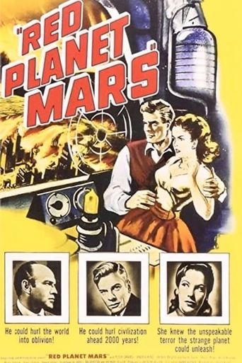 Red Planet Mars Poster