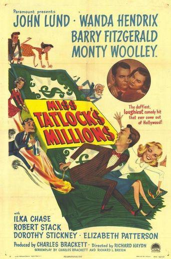 Miss Tatlock's Millions Poster