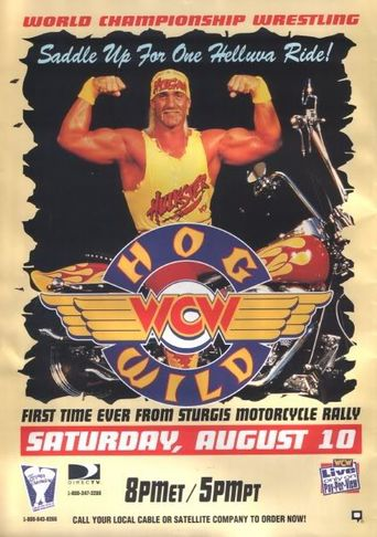 WCW Hog Wild 1996 Poster