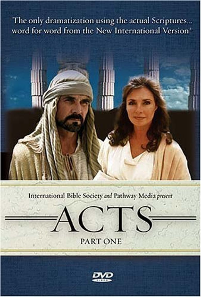 The Visual Bible - Acts Poster