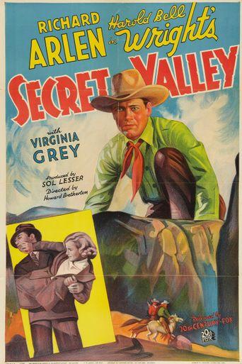 Secret Valley Poster