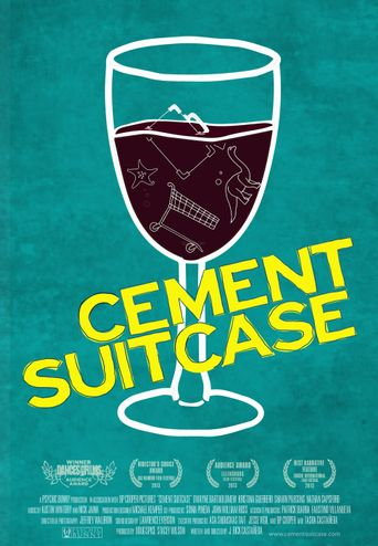 Cement Suitcase Poster
