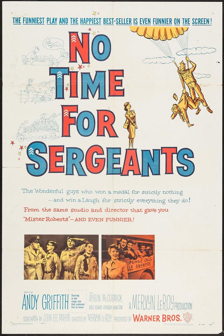 No Time for Sergeants Poster