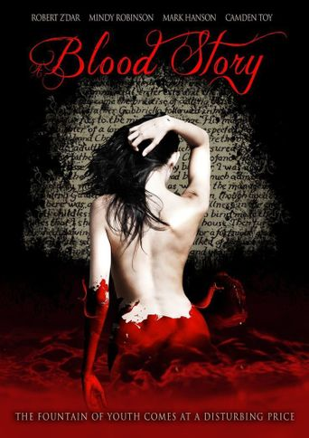 A Blood Story Poster