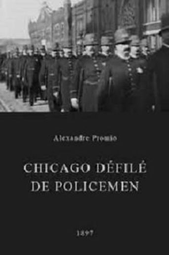 Chicago Police Parade Poster