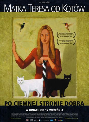Mother Teresa of Cats Poster