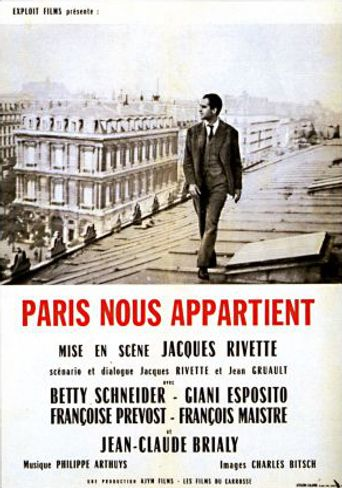 Paris Belongs to Us Poster