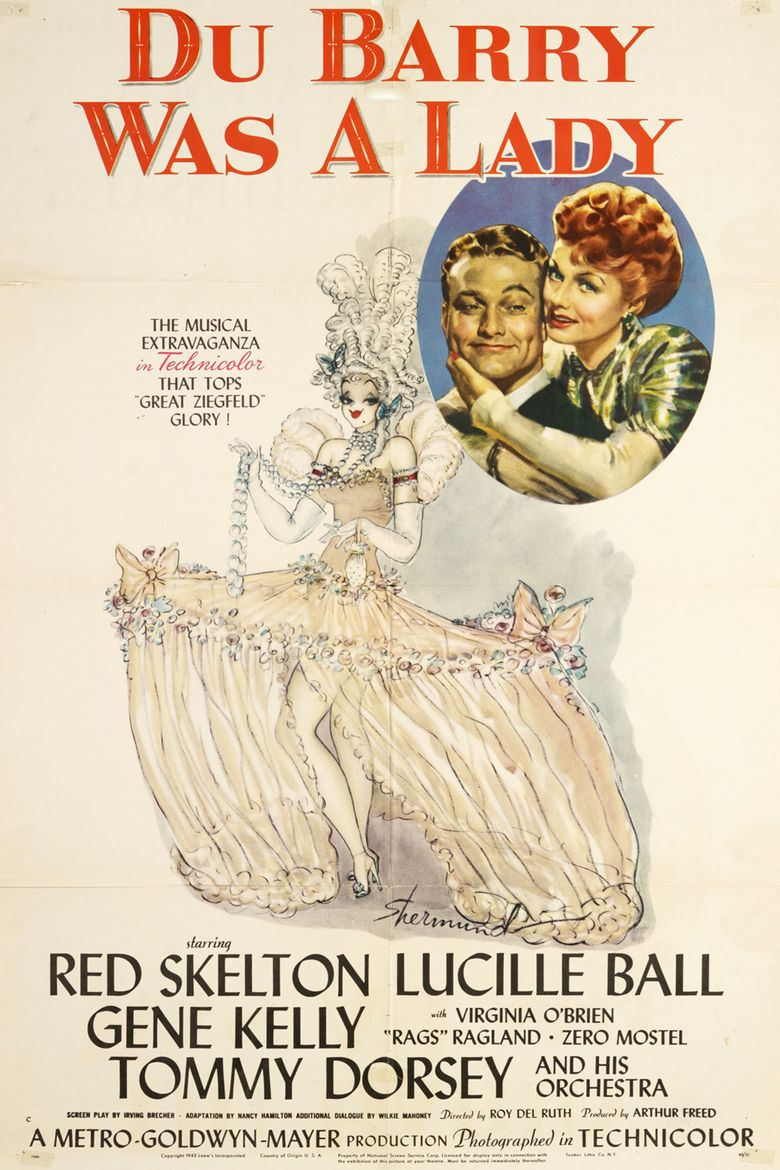 Du Barry Was a Lady Poster