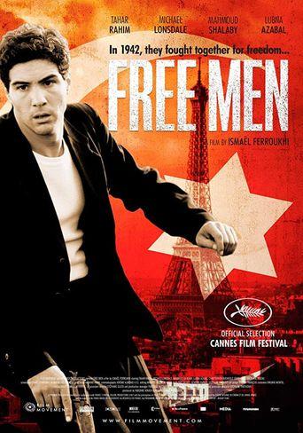 Free Men Poster
