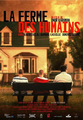 La ferme des humains Poster