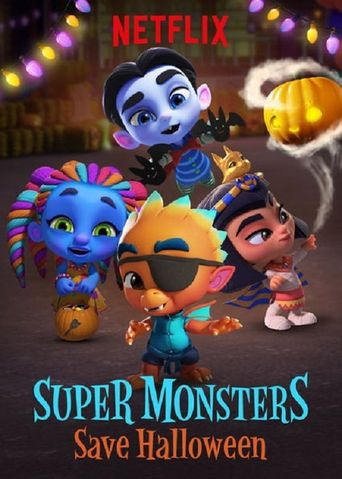 Super Monsters Save Halloween Poster