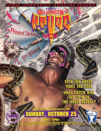 WCW Halloween Havoc 1992 Poster
