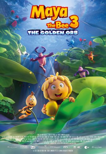 Maya the Bee: The Golden Orb Poster