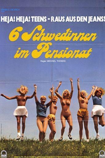 Six Swedish Girls in a Boarding School Poster