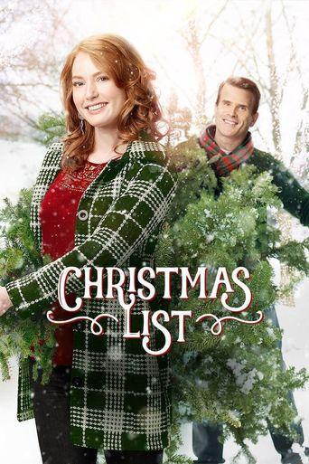 Christmas List Poster
