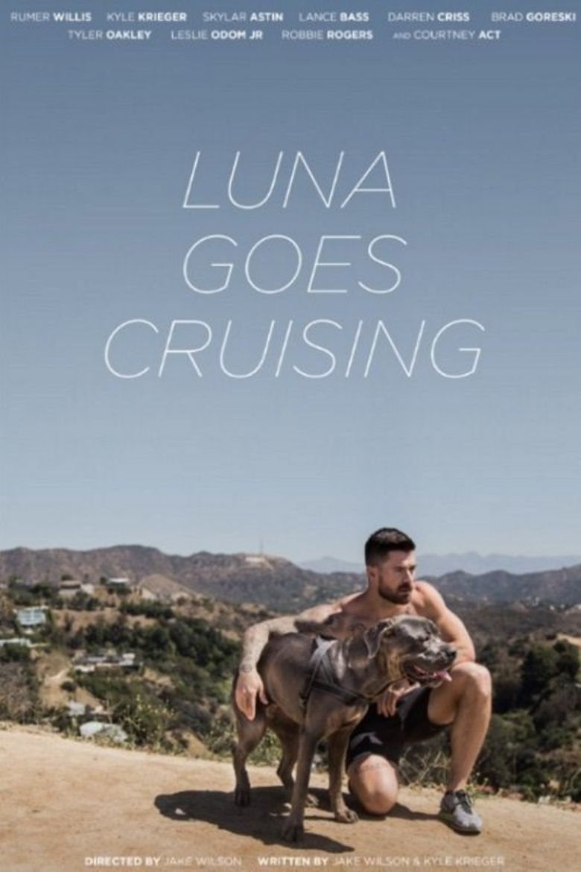Luna Goes Cruising Poster