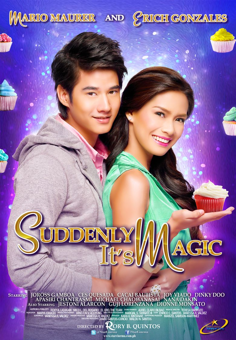 Suddenly It's Magic Poster