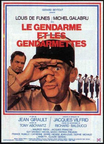 The Gendarme and the Gendarmettes Poster