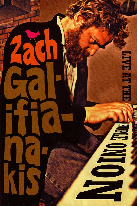 Zach Galifianakis: Live at the Purple Onion Poster