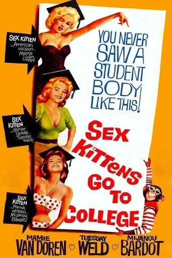 Sex Kittens Go to College Poster