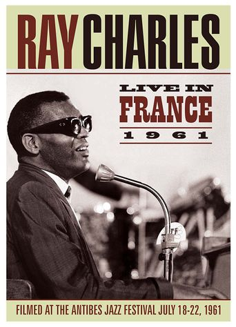 Ray Charles: Live in France 1961 Poster