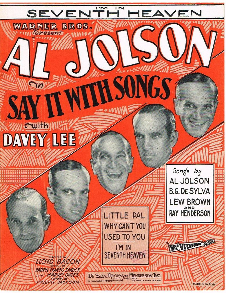 Say It with Songs Poster
