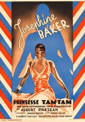 Princesse Tam Tam Poster