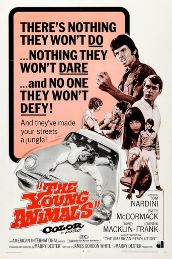 The Young Animals Poster