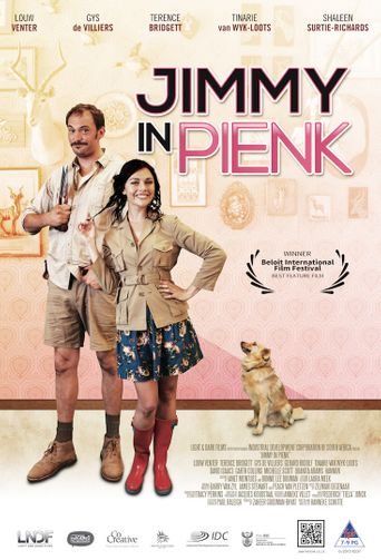 Jimmy in Pink Poster