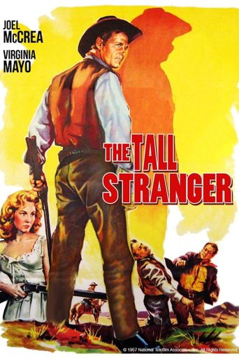The Tall Stranger Poster