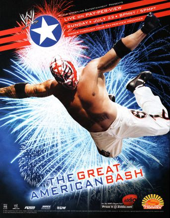WWE The Great American Bash 2007 Poster