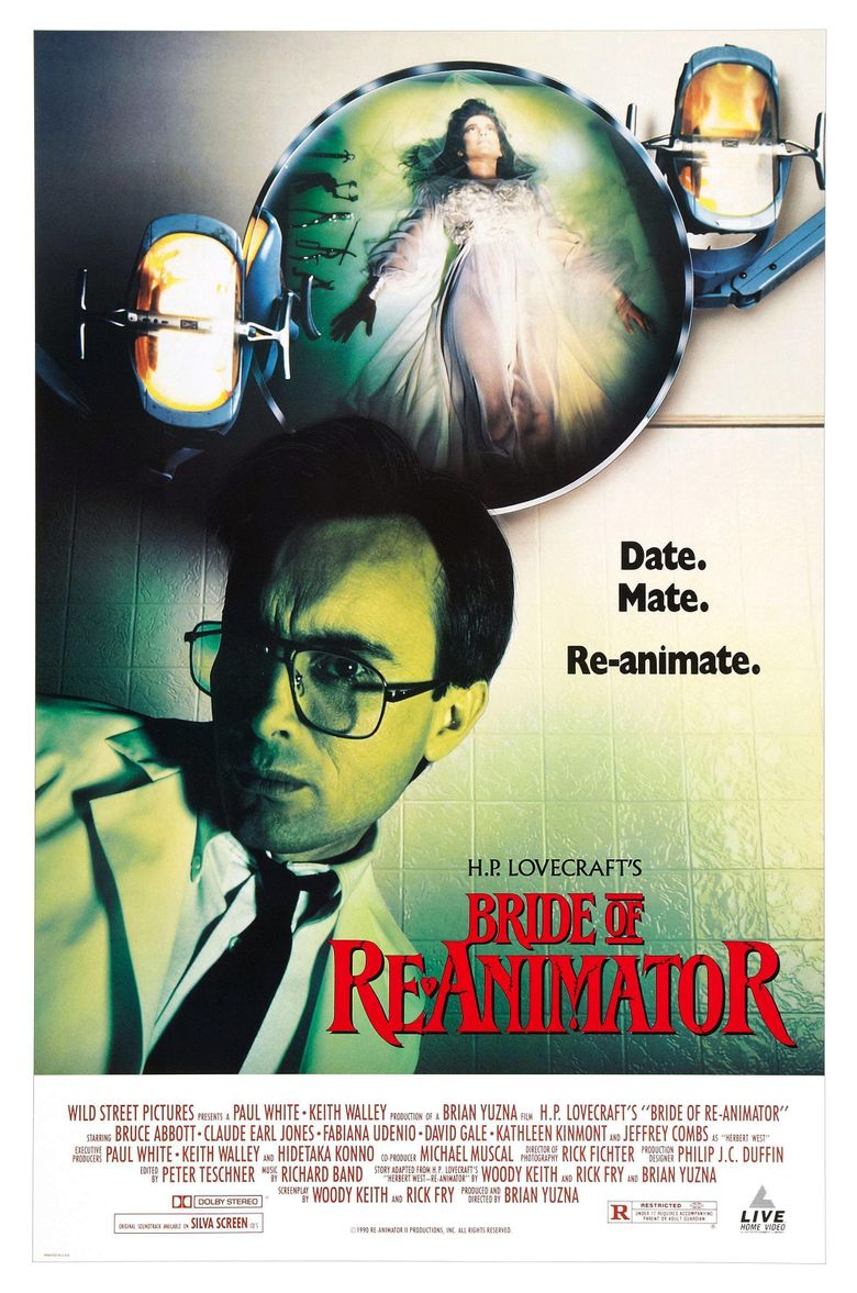 Bride of Re-Animator Poster