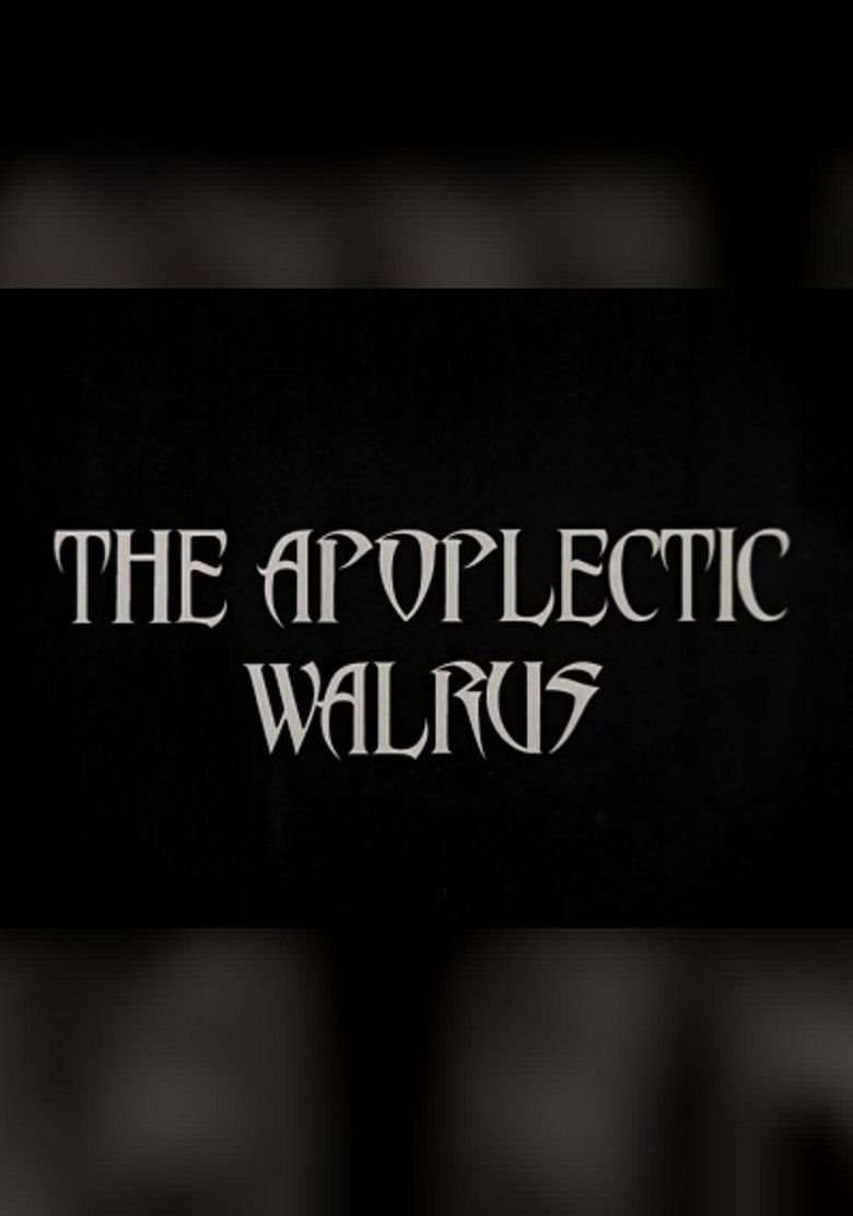 The Apoplectic Walrus Poster