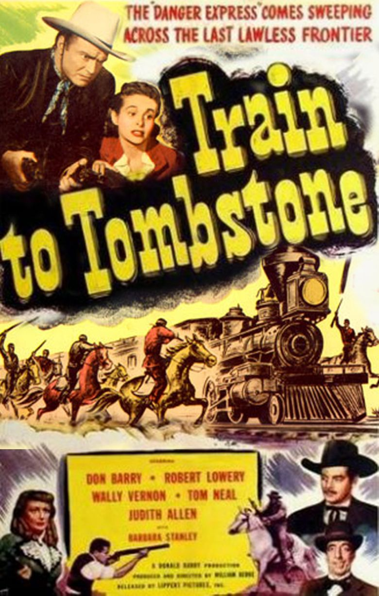 Train To Tombstone Poster
