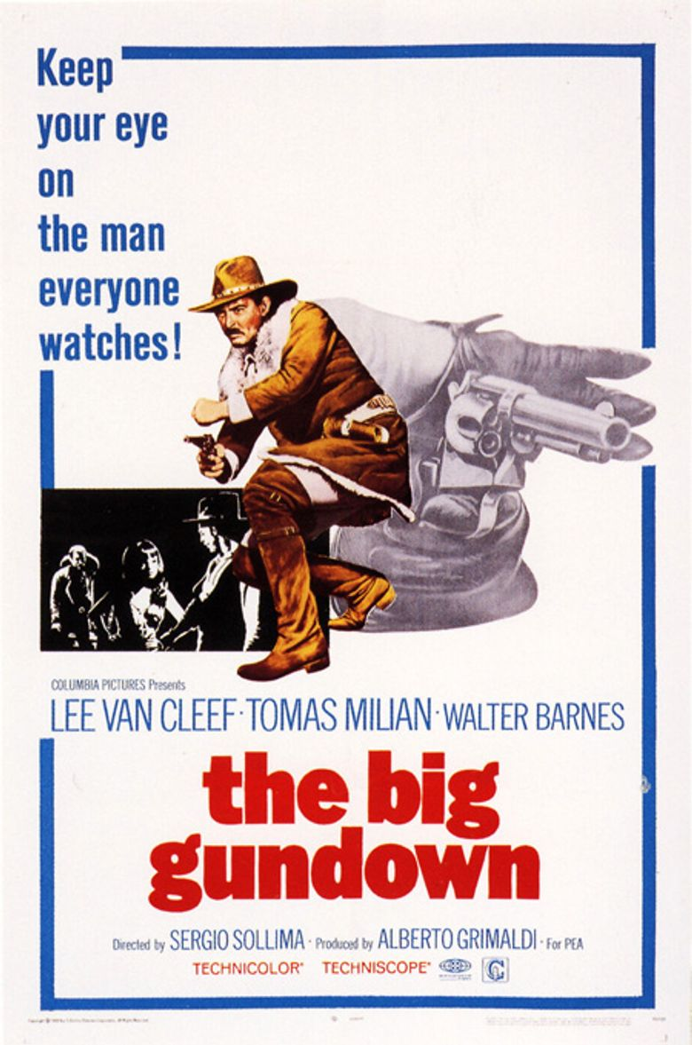 The Big Gundown Poster