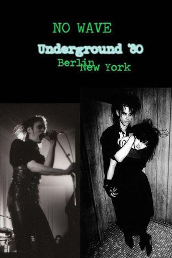 No Wave - Underground '80: Berlin - New York Poster