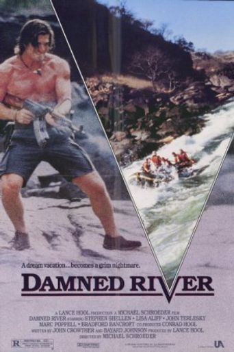 Damned River Poster