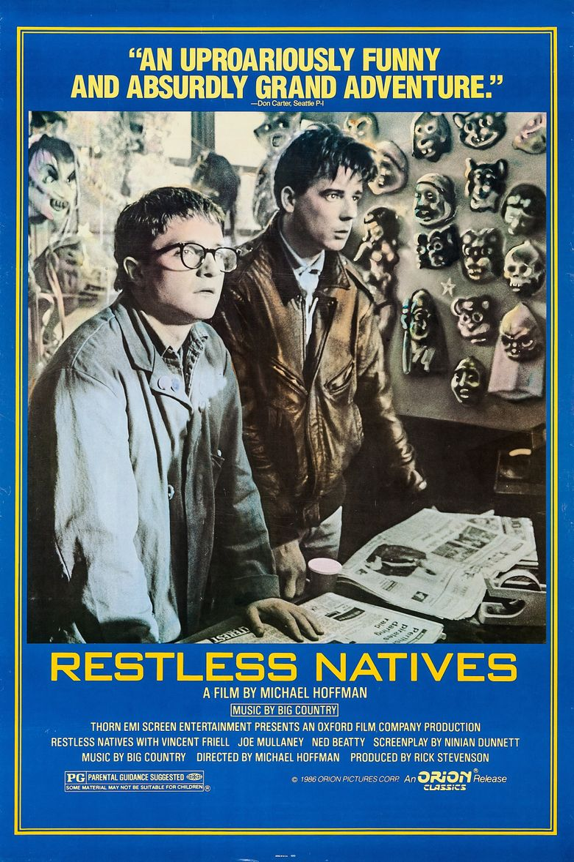 Restless Natives Poster