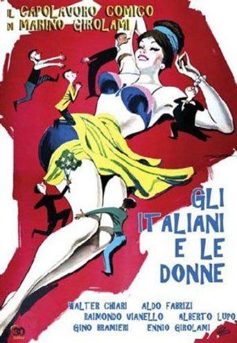 Gli italiani e le donne Poster