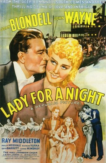 Lady for a Night Poster