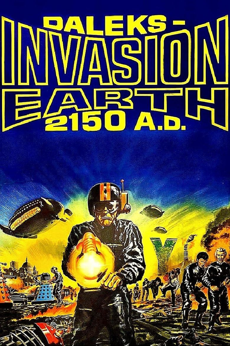 Daleks' Invasion Earth: 2150 A.D. Poster