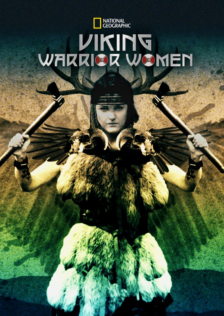 Viking Warrior Women Poster