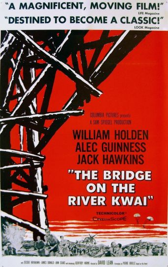 The Making of 'The Bridge on the River Kwai' Poster