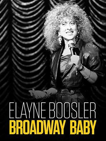 Elayne Boosler: Broadway Baby Poster
