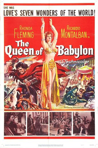 The Queen of Babylon Poster